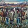 Rocky Mountain Cowboys - By Canadian Artist Angie Hill