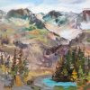 Mountain Reflections - By Canadian Artist Jane Appleby