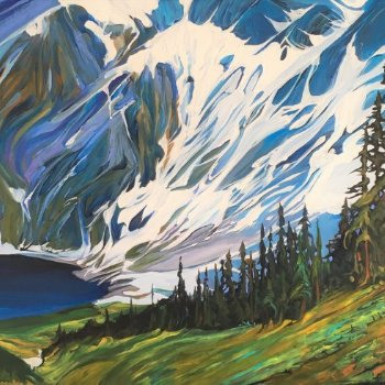 Rawson Lake Respendence - By Canadian Artist Heather Pant