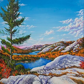 Ontario - By Canadian Artist Kevin Joyce