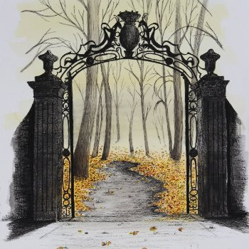 The Gate - By Canadian Artist Neil Assenheimer
