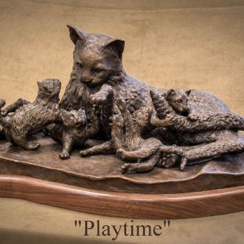 Play Time - By Canadian Artist Ron Pearce