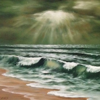 Serenity - By Canadian Artist Shirley Campbell